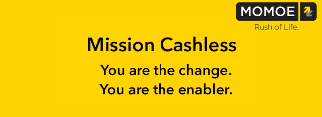 Mission Cashless momoe